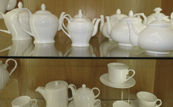 bone china teapots