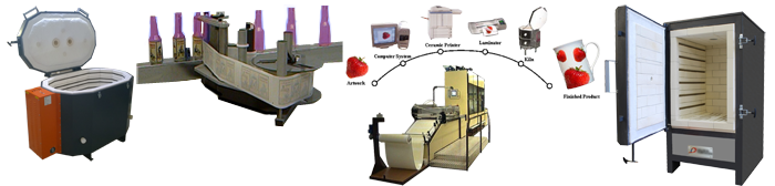 Ceramic decorating equipment